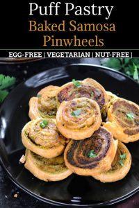 Puff pastry samosa pinwheels Pinterest Pin