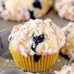 How to make Blueberry Muffins With Streusel Crumb Topping