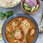 Indian Chicken curry in Pressure cooker