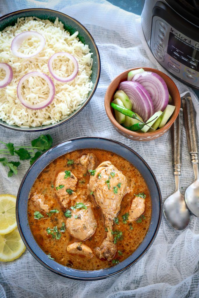 How to make Instant Pot Indian Chicken Curry