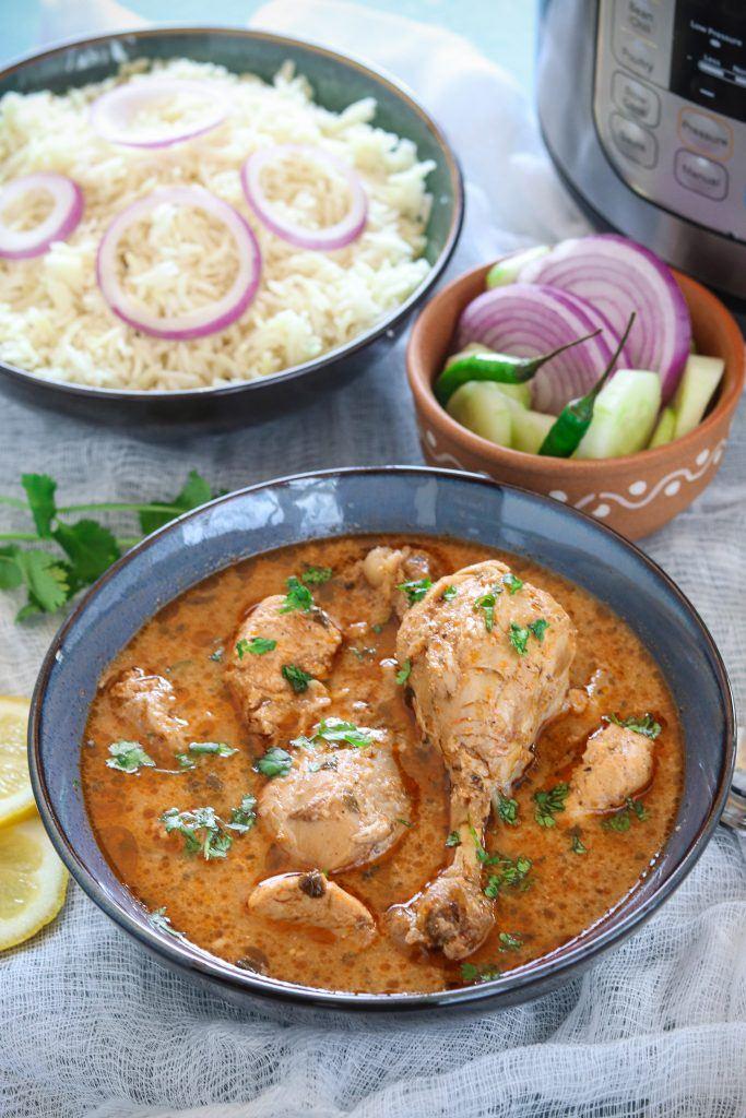 Indian Chicken Curry  (gluten-free recipe)