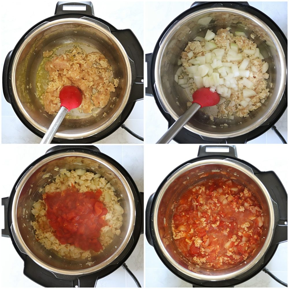 How to make Instant Pot Chicken Lasagna Soup?