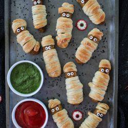 Halloween Corn Croquettes