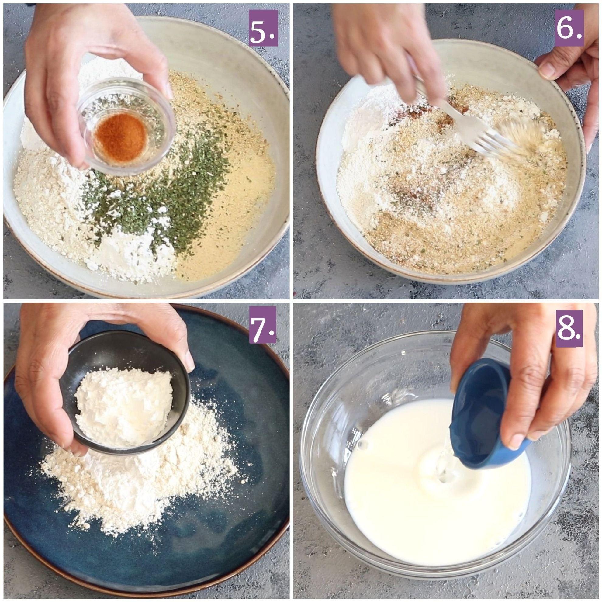 Step by step paneer nuggets recipe