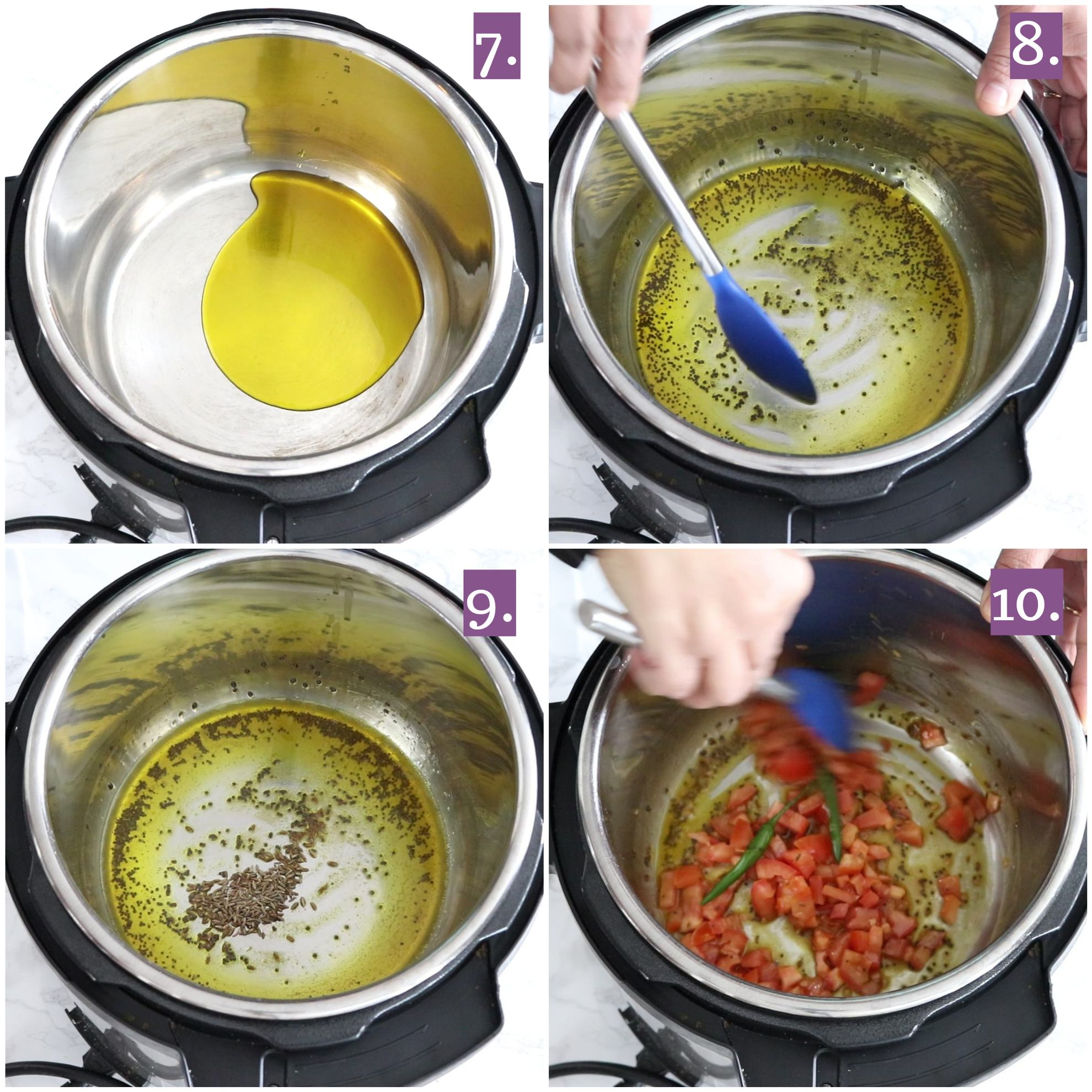 How to make Instant Pot Bharwan Baingan