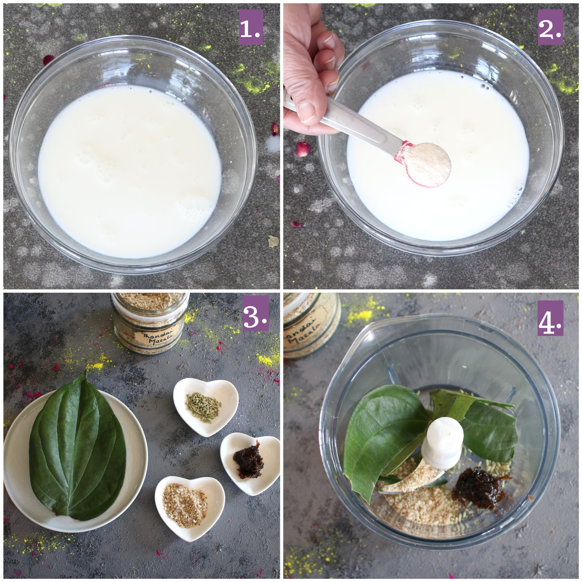 Making of Paan Panna Cotta