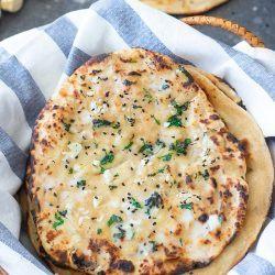 Tandoori Garlic Roti