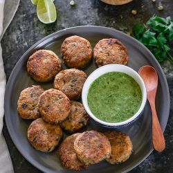 Sprouted Moong Beans Cutlets