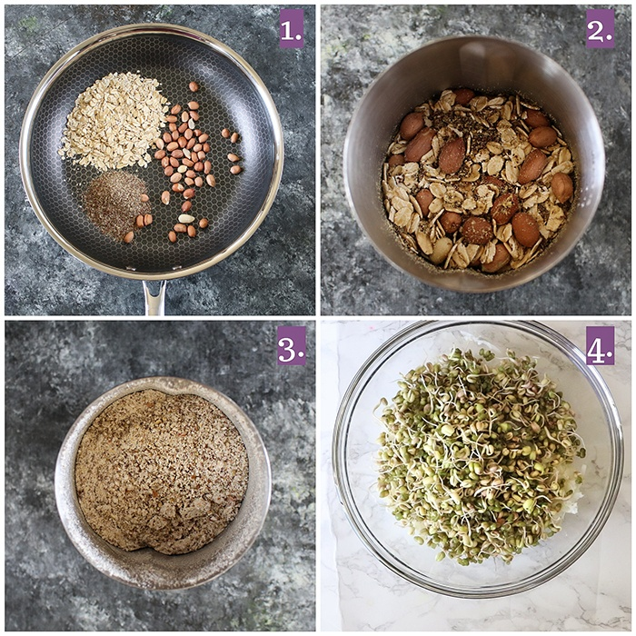 How to make sprouts Cutlets