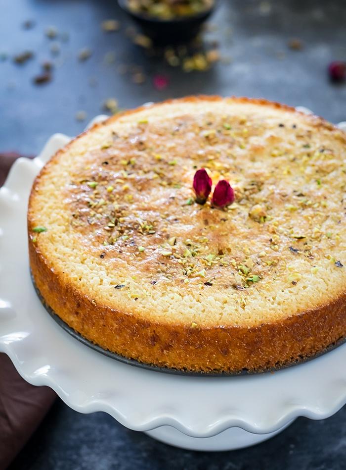 Baked Mawa cake