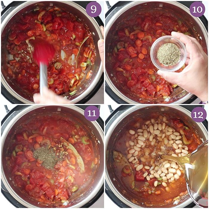 How to make Instant Pot Pasta E Fagioli Soup