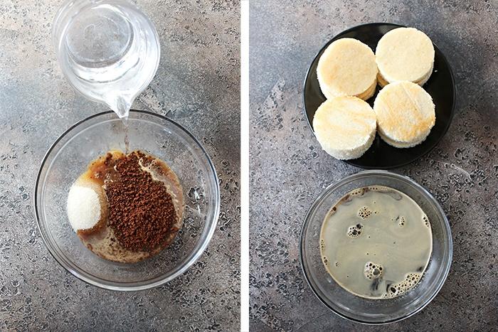 Prepare coffee mixture