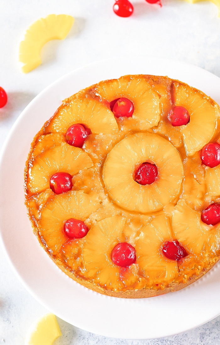 Pineapple Upside Down Cake Eggless And Vegan Ruchiskitchen