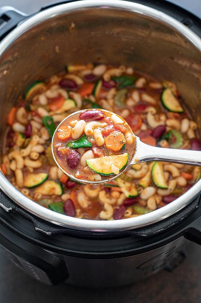 Instant Pot vegan soup