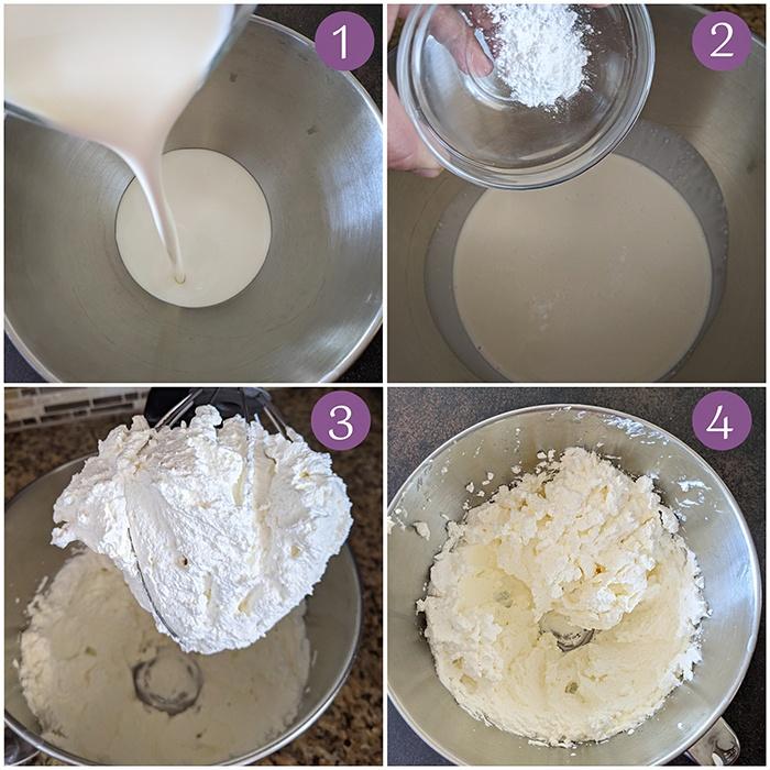 Prepare Whipped cream