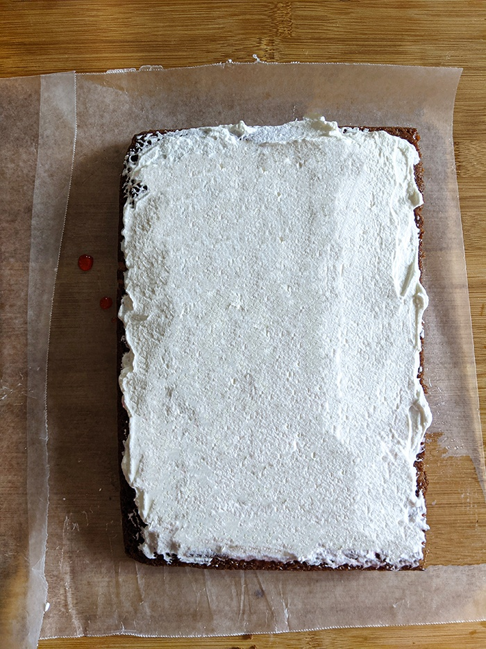 Step by Step Eggless Black forest pastry