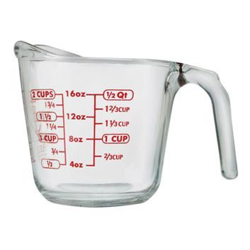 Chart - Grams, Liters, Gallons, Cups, Ounces