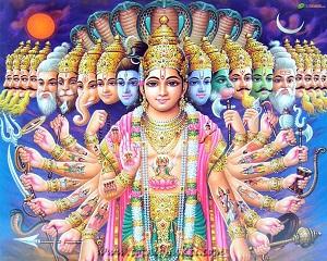 Vishnu – Dasha Avatar -Ten Incarnations