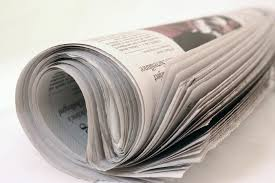 Newspaper as deodorizer