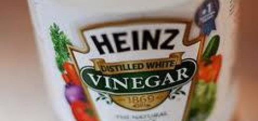 how to get rid of vinegar smell on hands