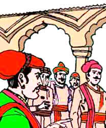 Akbar- Birbal - Identifies the guest