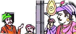 Birbal gives a sweet reply