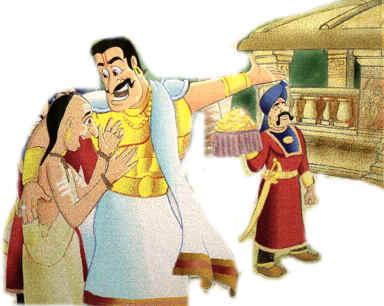 The Brahmin's story