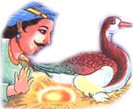 Panchtantra - The goose that laid the golden egg