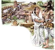 Parashurama Avatar - Parshuram and his mother