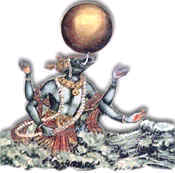 Varaha Avatar - The third incarnation of Lord Vishnu
